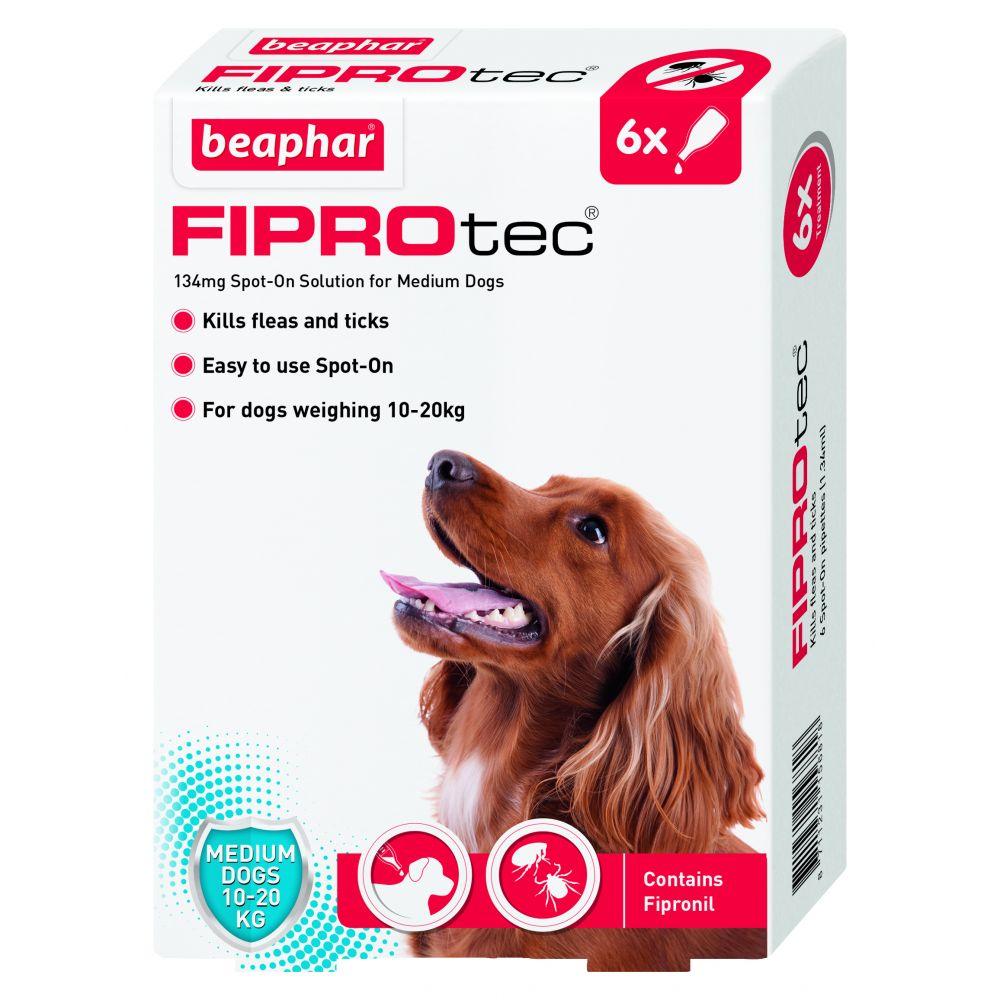 BEAPHAR UK FIPROtec Spot On Small Dog 6tmnt pack of 1
